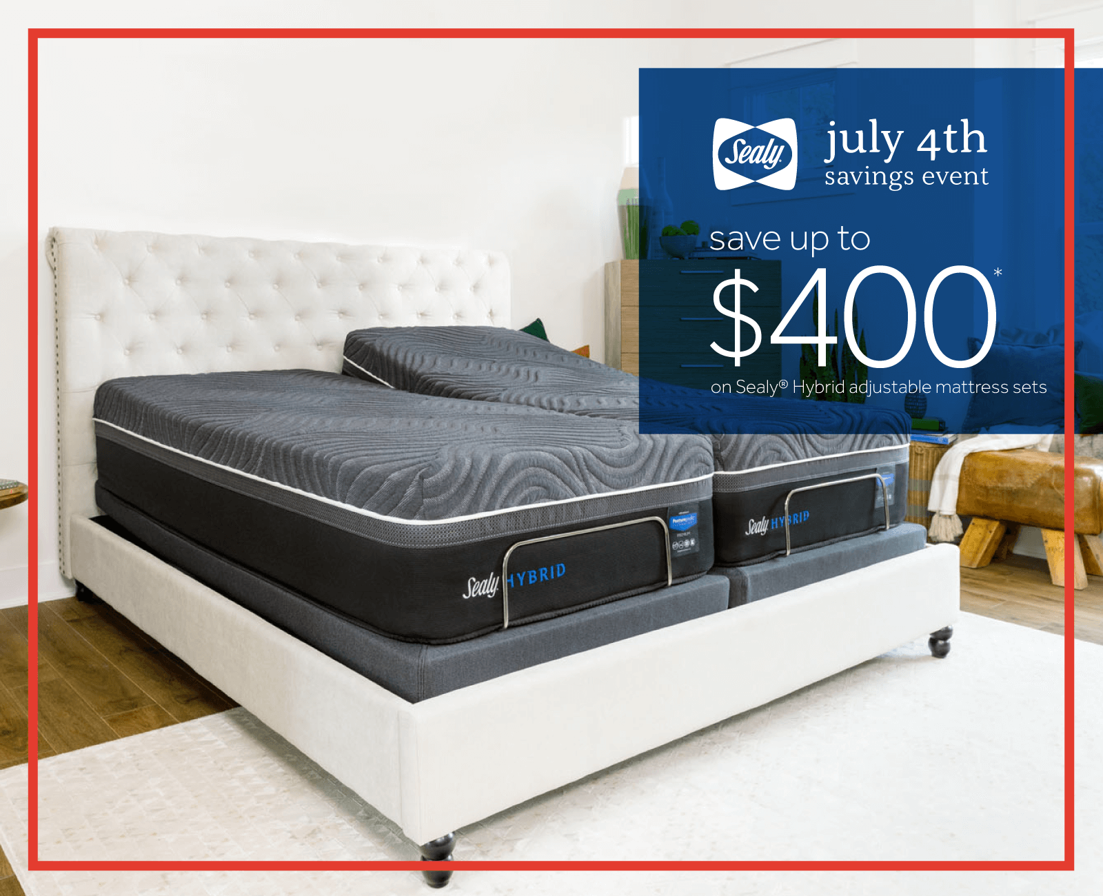 Sealy July 4th Savings Event